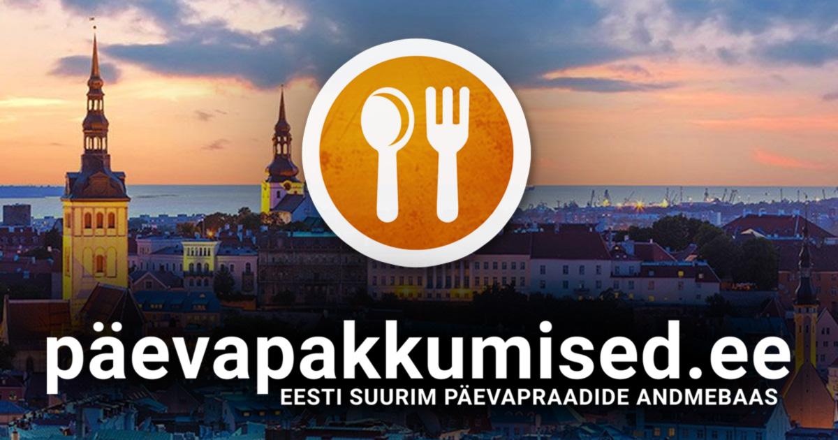 5fcb9bf8388 Tallinn - Päevapakkumised